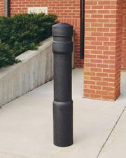 Decorative Bollard Cover Arch-Black-0