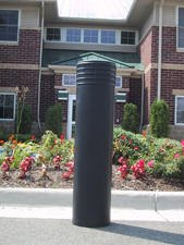Decorative Bollard Cover Cinco-Grey-0
