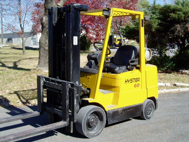 Hyster 6,000 Pound Cushion Forklift -0