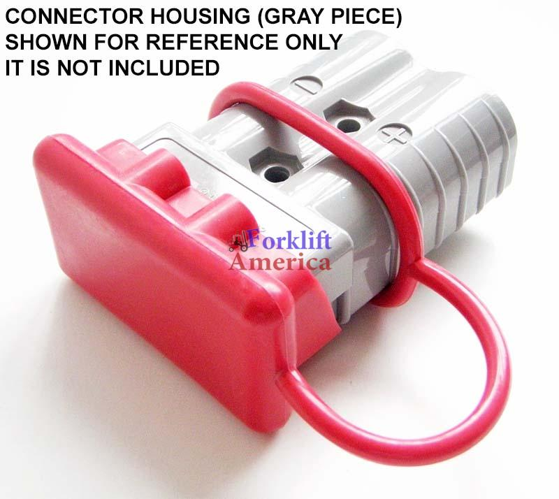 SB175 Connector Dust Cover 175 Amp (RED)