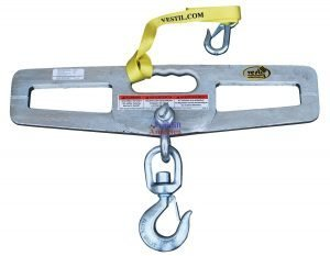 6,000 lb. Capacity Lift-Master Hook Plate - Swivel-0