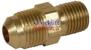 Straight Hose to REGO Valve LP LPG High Pressure Liquid Propane Adapter Fitting