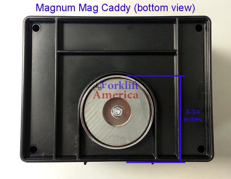 "Magnum Large 7x9x5"" Mag-Kaddy Magnetic Caddy (to hold pens, pencils, markers, knives, etc.)"