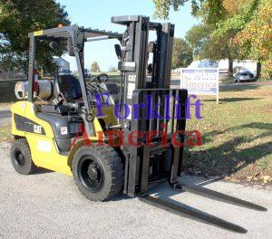 used-cat-caterpillar-pneumatic-forklift-2p6000-st louis-missouri